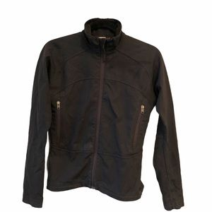 MEC black stretchy active sport outdoor shell
